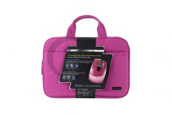 Pink terra mini cover pack (cover and mouse) 12 inch
