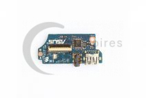 90R-NIOAU1000C Asus UX31A USB Audio Card Reader PC Board