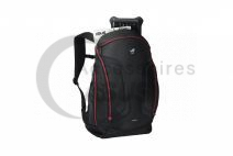Black and red ROG Shuttle 2 Backpack 17