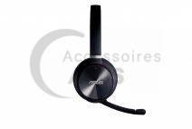 Wireless black headset HS-W1