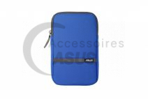 Blue Zippered cover