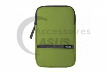 Green Zippered cover for tablet