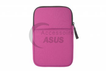 Pink Zippered cover for tablet
