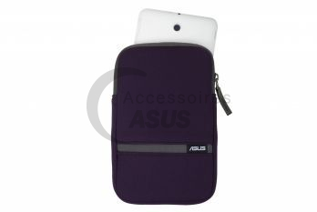 Purple Zippered cover for tablet