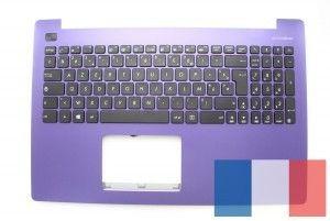 Purple keyboard for laptop