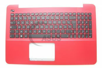 Red AZERTY keyboard