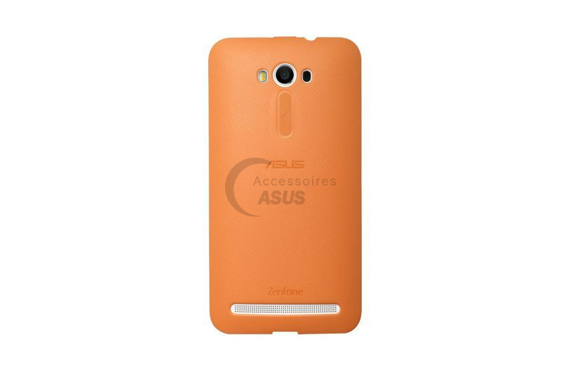 Orange bumper case for ZenFone 2 Laser 5.5