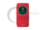 Red view flip cover for ZenFone 2 Laser 5""