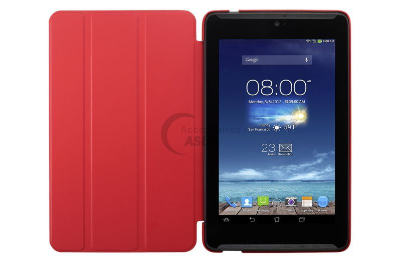 Red Tricover for ZenPad