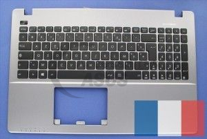Grey AZERTY keyboard