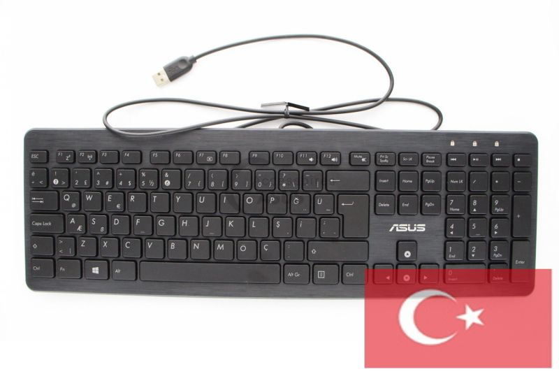Turkish QWERTY wired keyboard for All-in-One