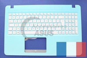 Blue keyboard AZERTY for Vivobook