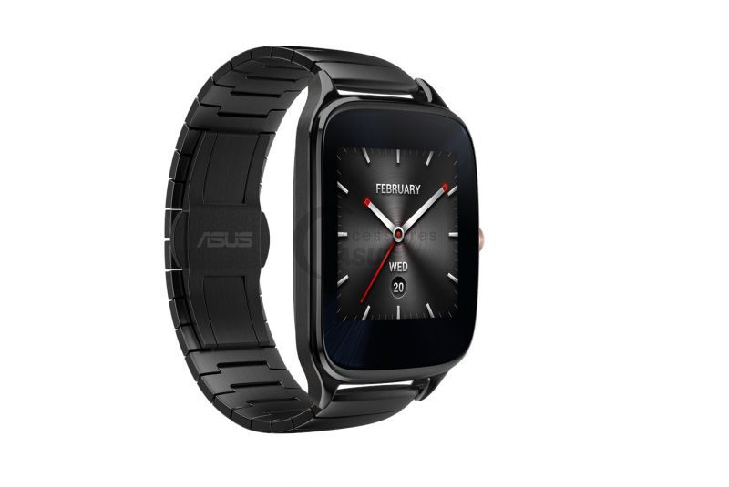 Metallic watchstrap for ZenWatch