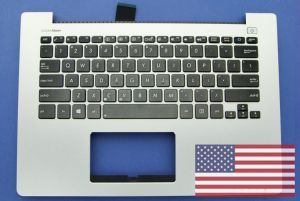 Grey US keyboard