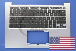Grey US QWERTY backlight keyboard for Zenbook