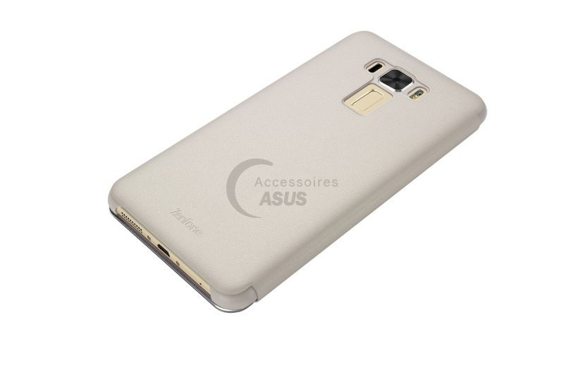 Golden View flip cover for ZenFone 3 Laser