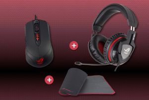 Gladius mouse - GM50 mousepad - Orion pro headset bundle