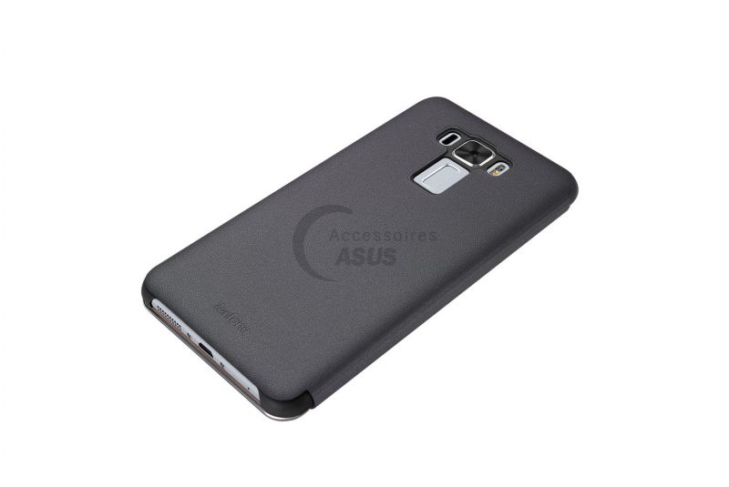Black view flip cover for ZenFone 3 Laser