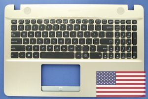 Gold US keyboard