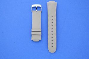 Beige leather watch strap for ZenWatch 3