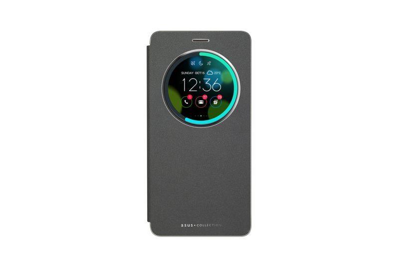 Black View flip cover for ZenFone 3 Deluxe