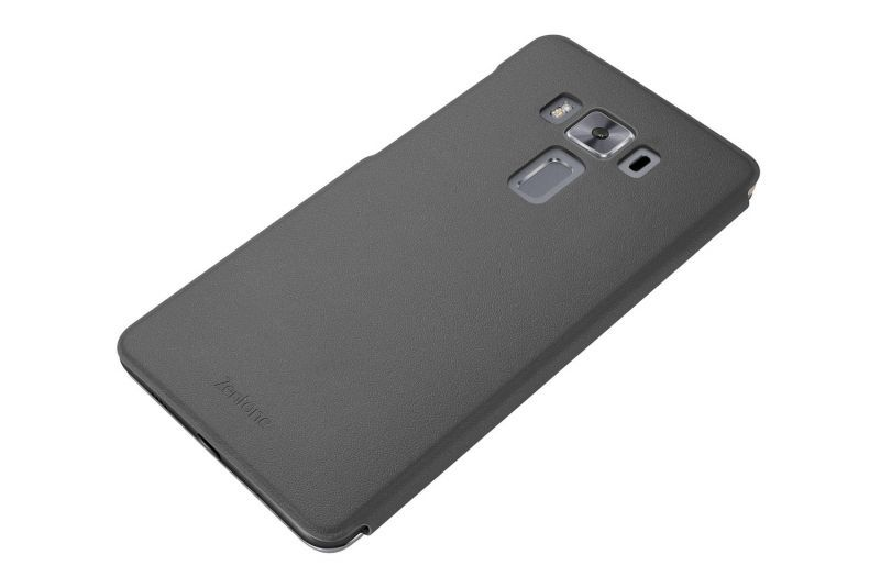 Black View flip cover for ZenFone 3 Deluxe