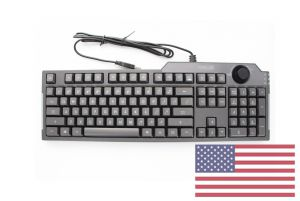 Wired US QWERTY gamer keyboard for desktop