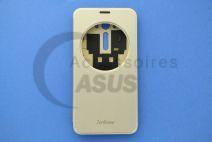 Golden view flip cover for ZenFone 2 Laser 5.5""