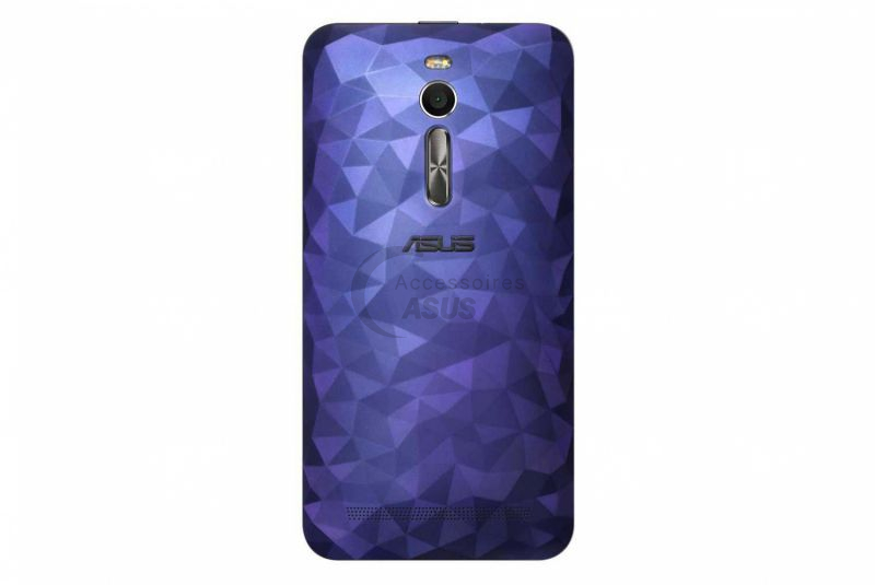 the best attitude 7284f 29235 ZenFone Selfie blue Polygon illusion back cover | Accessoires Asus