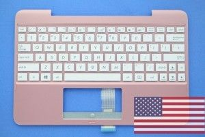 Rose gold QWERTY US keyboard