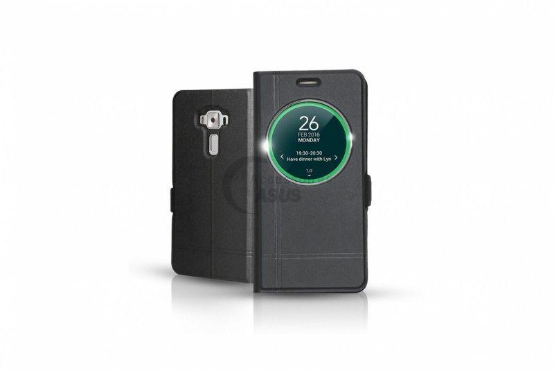 best service 29612 c085c ZenFone 3 Laser Black View Flip Cover Ibroz   Accessoires Asus