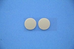 Pack of 2 bottom rubbers for laptop