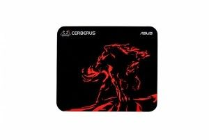 ROG Cerberus Mat Plus red gaming mouse pad