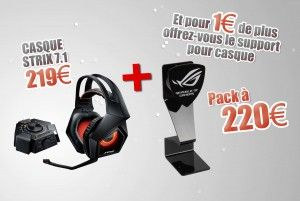 Special Bundle Headset + Stand