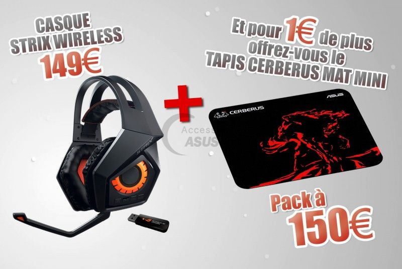 Special Bundle Headset + Mouse Pad