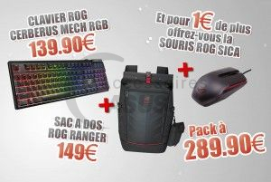 Special Bundle Backpack + Keyboard + Mouse