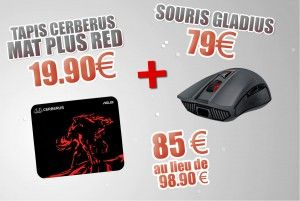 Special Bundle Mouse + Mouse Pad