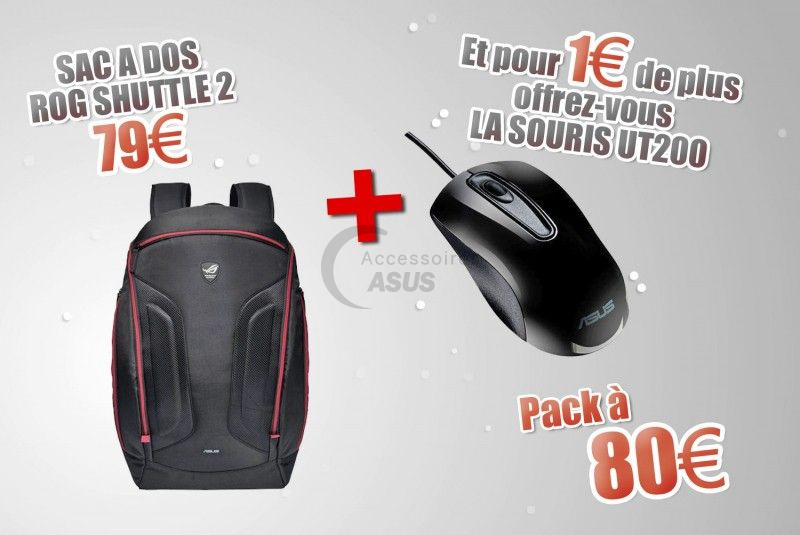 Special Bundle Backpack + Mouse