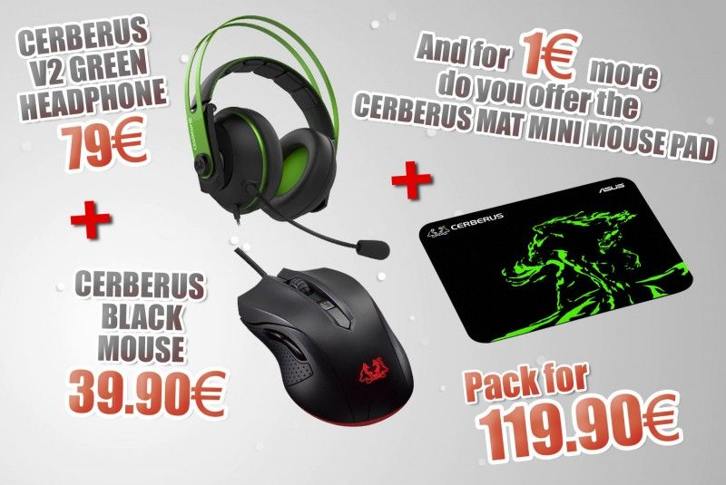 Special Bundle Headset + Mouse + Mouse Pad