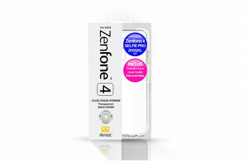 ZenFone 4 Selfie Pro Clear Case pack   Ibroz Screen Protection