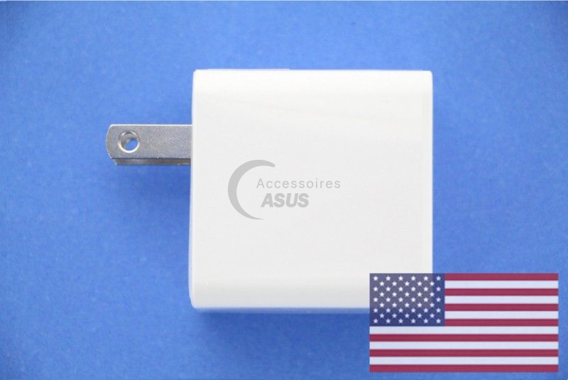 US White 10W Adapter Asus