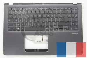Grey backlit AZERTY keyboard for Zenbook Flip