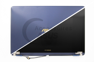 13-inch 4K UHD blue screen for ZenBook