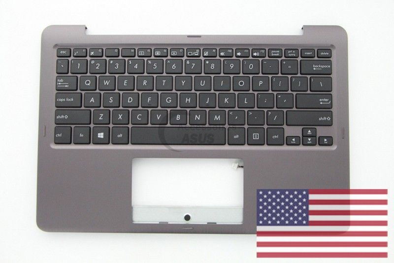Grey US QWERTY Keyboard for Vivobook Flip