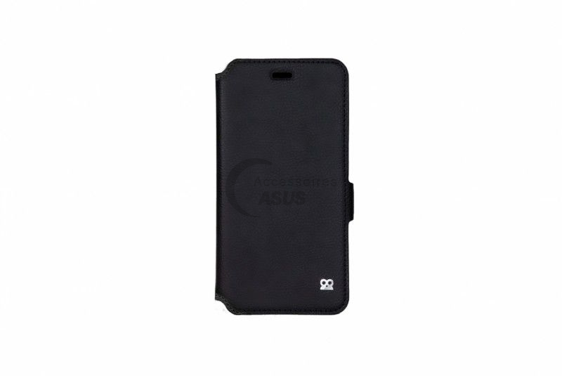 Ibroz Prestige Folio Black Leather Case for ZenFone 5