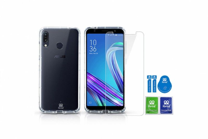 Bundle ClearCase + Ibroz screen protector for ZenFone Max M1