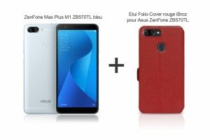 ZenFone ZB570TL 32GB blue pack and red cover