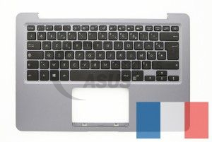 Grey AZERTY  keyboard for Vivobook