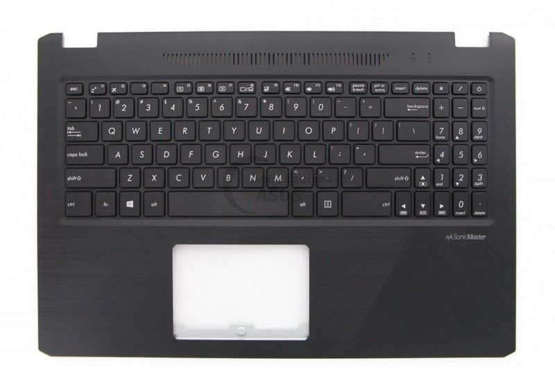 Black US QWERTY Keyboard for VivoBook