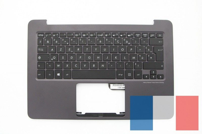 Brown AZERTY keyboard for ZenBook